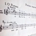 Noten Carmina Burana